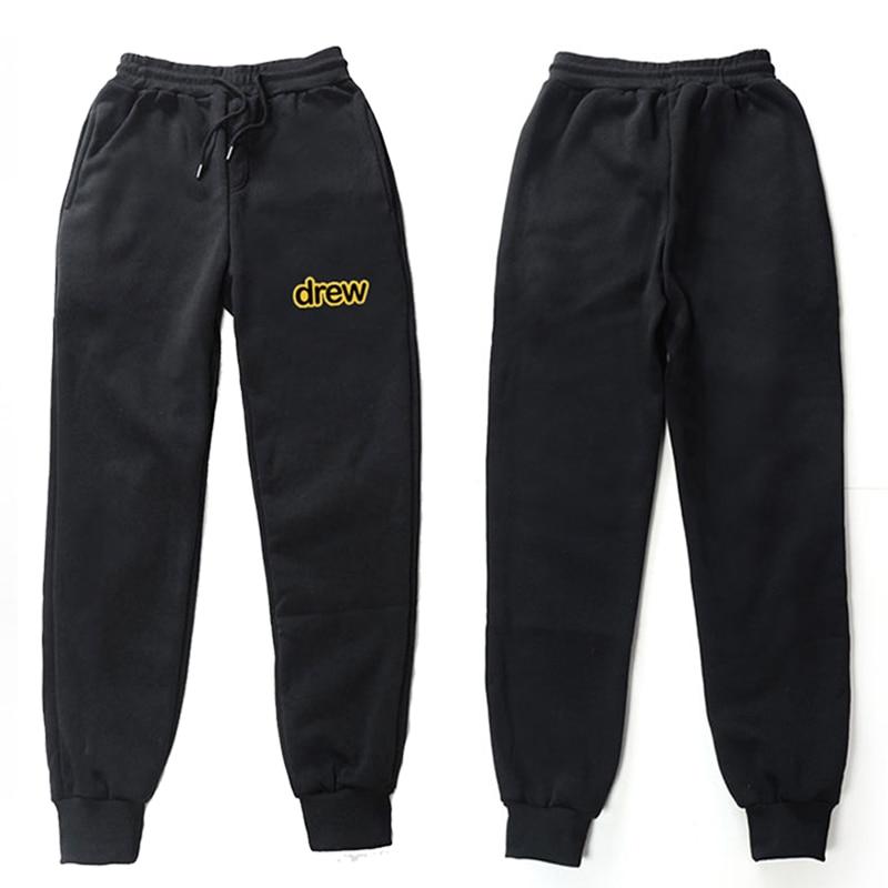 Брюки Джастина Бибера дэ, модная уличная одежда, штаны для бега, мужские и женские повседневные спортивные брюки, свободные удобные штаны, м...