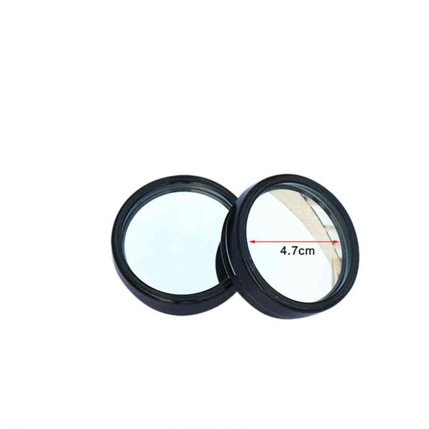 Universal 2pcs Car Vehicle Driver Wide Angle Round Convex Mirror Blind Spot Auto RearView pratical Car Acessories 90805