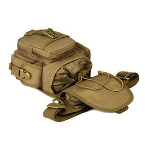 Image 5 - Men Waterproof Nylon Drop Leg Bag Fanny Waist Pack Thigh Belt Hip Bum Military Tactical for Travel Motorcycle Riding