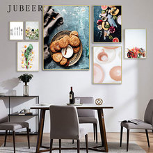 Food Canvas Prints Fruit Vegetable Wall Art Dinner Posters and Prints Decoratrion Picture Kitchen Dining Room Restaurant Decor prints