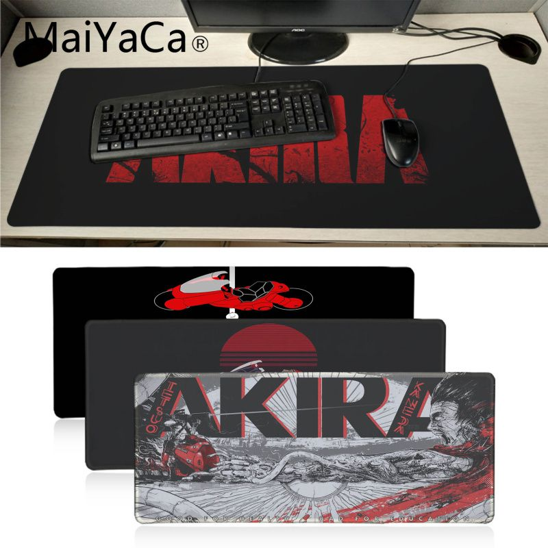 MaiYaCa Cool New Akira 1988 Film Rubber Pad to Mouse Game Gaming Mouse Pad Large Deak Mat 900x400mm for overwatch/cs go