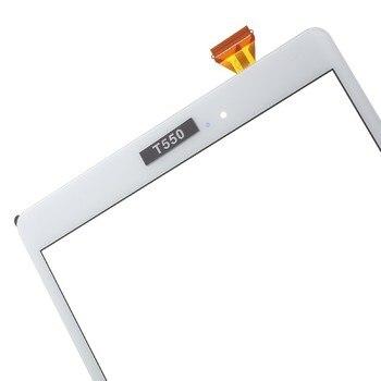Nuevo para samsung Galaxy Tab A 9,7 SM-T550 SM-T551 SM-T555 T550 T551 T555 pantalla táctil digitalizador de Panel de vidrio digitalizador
