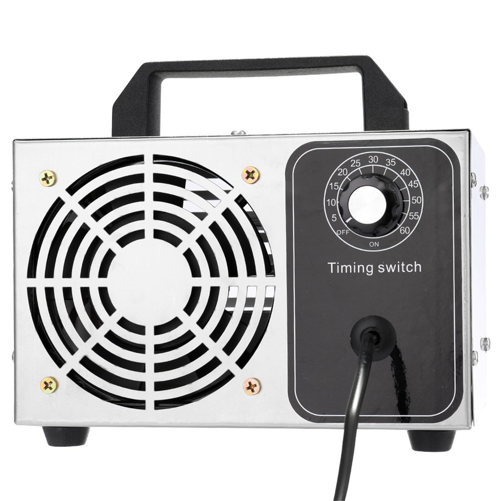 Ozone Generator 28g/24g/10g Machine Stainless Steel Air Purifier Air Cleaner Disinfection Sterilization Cleaning Formaldehyde