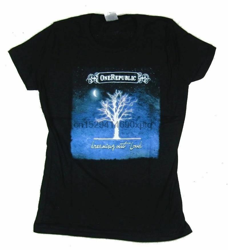 HAPPYHAPPYHAPPY OneRepublic Dreaming Out Loud Boys Girls Short Sleeve T-Shirt Black