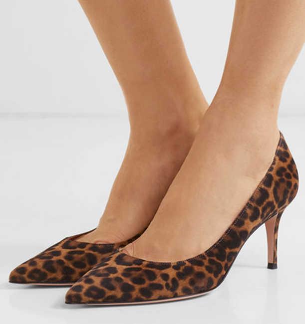 Boussac Sexy Leopard Women Pumps High