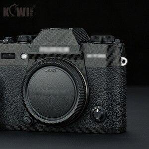 Image 5 - Kiwi Anti Scratch Protetor de Pele Da Tampa Do Corpo Da Câmera Para Fujifilm Fuji X T30 3 XT30 Câmera Anti Slide Filme De Fibra De Carbono 3M Adesivo