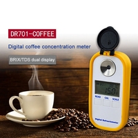 DR701 0 30% БРИКС кофе сахар метр TDS 0 25% рефрактометр цифровой портативный электронный рефрактометр