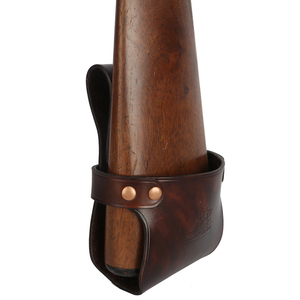 Image 5 - Tourbon Tactical Hunting Gun Accessories Gun Buttstock Shotgun Hip Holster Waist Belt Rifle Holder Genuine Leather