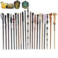 27 видов металлических сердечников волшебные палочки для косплея Волдеморт Гермиона волшебная палочка тряпичная этикетка в качестве бонус...
