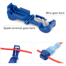 Cable-Connectors Lock Wire-Terminal Splice Crimp-Wire Quick-Electrical AWG Snap 22-14