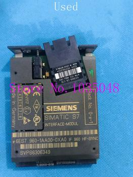 1PC 6ES7960-1AA00-0XA0  6ES7 960-1AA00-0XA0  Used and Original Priority use of DHL delivery #04