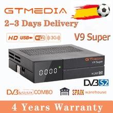Beste 1080P GTmedia V9 Super DVB-S2 Satellite Empfänger Gleichen GTmedia V8 Nova/Honor Freesat V9 Super Spanien lager gtmedia v8x