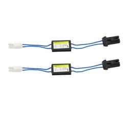 T10 canbus cabo 12v led aviso cancelador decodificador 501 t10 w5w 192 168 luzes do carro nenhum erro canbus ocb carga resistor 2pcs