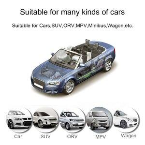Image 5 - Inteligentny System monitorowania ciśnienia w oponach TPMS Solar Power cyfrowy wyświetlacz LCD systemy alarmowe w samochodzie ciśnienie w oponach