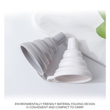 Silicone Funnel Foldable Kitchen Mini Water-Source-Filtration Can-Be-Used-For