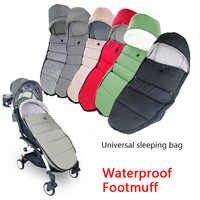 Universal Baby Wagen Winter Socken Schlaf Tasche Winddicht Für Yoya Yoyo Kinderwagen Warme Fußsack Abdeckung Baby Kinderwagen Zubehör