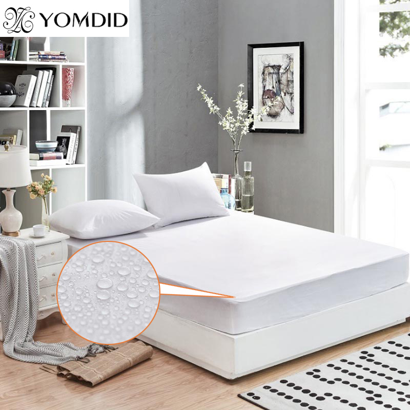 Mattress Pad Waterproof Matress Cover Mattress Protector Bed Proof Permeable Home Hotel Hospital Mattress Pad Cover For Mattress image