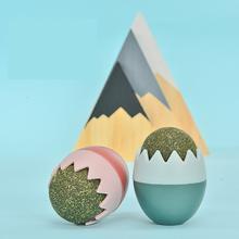 Игрушка мячик в виде яичной кошачьей мяты игрушки для кошек