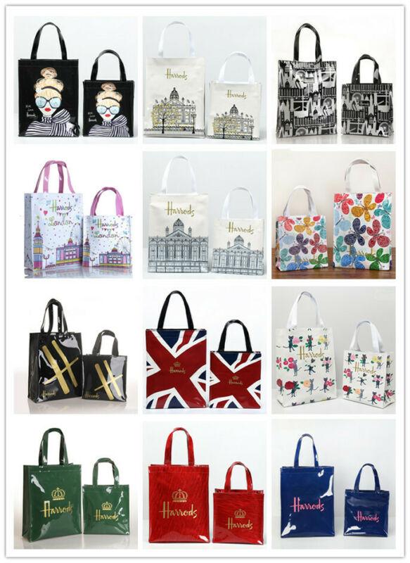 Top-handle Waterproof Shopping Handbags  PVC Storage Shoulder Bag