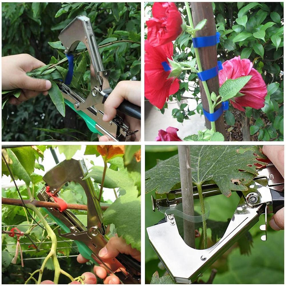 Tools : Plant Tying Machine Durable Convenient Tapener Tool Plant Agriculture Tape Tool For Fruit Flower Vegetable
