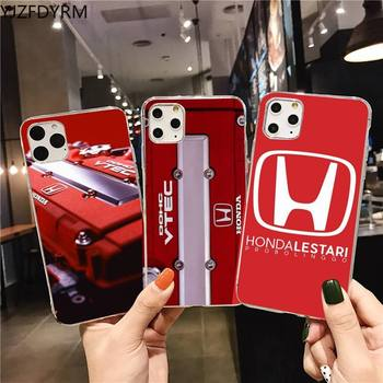 car Honda logo Phone Case for iphone 12 pro max 11 pro XS MAX 8 7 6 6S Plus X 5S SE 2020 XR cover image