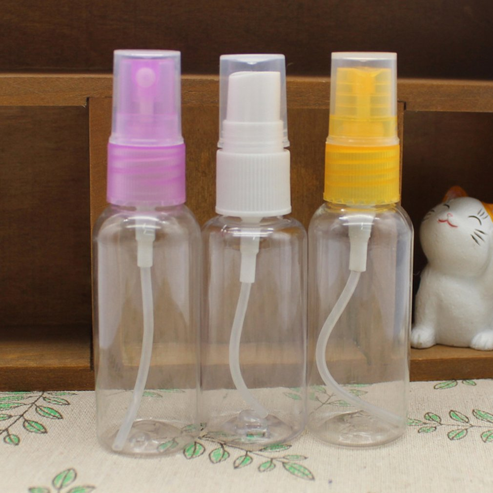 Small Size Water Spray Bottle Medical Spray Bottles Direct Sprayer Plastic Atomizer Cosmetic Spray Bottle