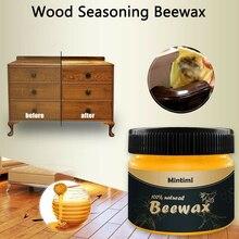 Деревянная приправа пчелиный воск полное решение деревянная мебель уход пчелиный воск домашняя Чистка для деревянного пола стул стол Шкаф 80 г