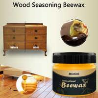 2PC Holz Gewürz Bienenwachs Komplette Lösung Holz Möbel Care Bienenwachs Hause Reinigung Für Holzboden Stuhl Schreibtisch Schrank 80g