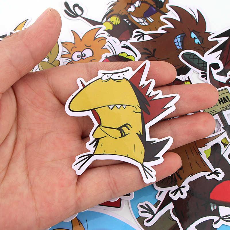 K414 20 Pz/set Castoro Misto Stickers Autoadesivi Del Computer Portatile Bagaglio di Skateboard Auto Styling Bicicletta Graffiti Decalcomanie Autoadesivi Impermeabili