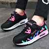 Autumn Kid Sneakers Girls Running Shoes Air Cushion Mesh Breathable Children Student Jogging Walking Casual Sports Shoes Tenis