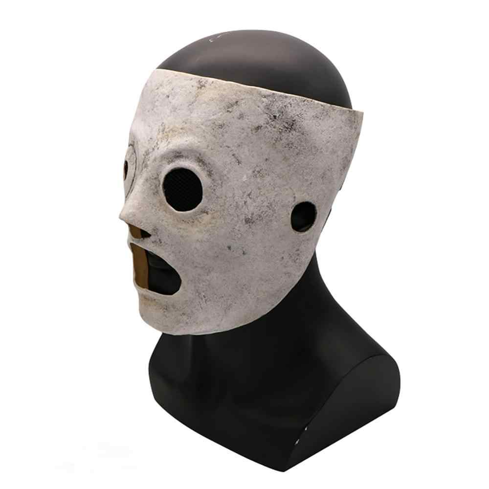 Новый Хэллоуин маска для взрослых маска Slipknot маскарадное платье костюм рейв Хэллоуин вечерние Косплэй реквизиты