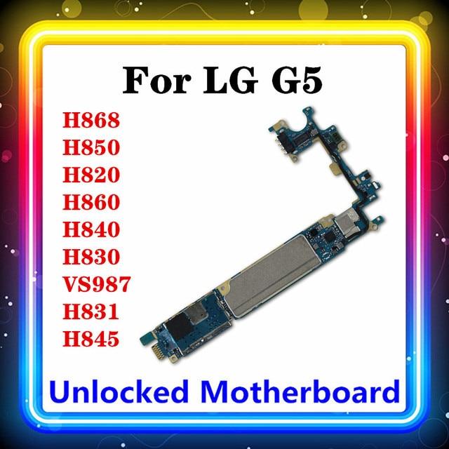 Для LG G5 H850 материнская плата H868 H820 H860 H840 H830 VS987 H831 H845 Тестирование с чипов материнской платы оригинальные Заменить материнскую плату