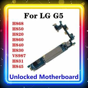Image 1 - Voor Lg G5 H850 Moederbord H868 H820 H860 H840 H830 VS987 H831 H845 Getest Met Chips Moederbord Originele Vervangen Logic board