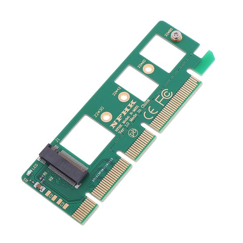 NVMe M.2 NGFF SSD To PCI-E PCI Express 3.0 16x X4 Adapter Riser Card Adapter Converter