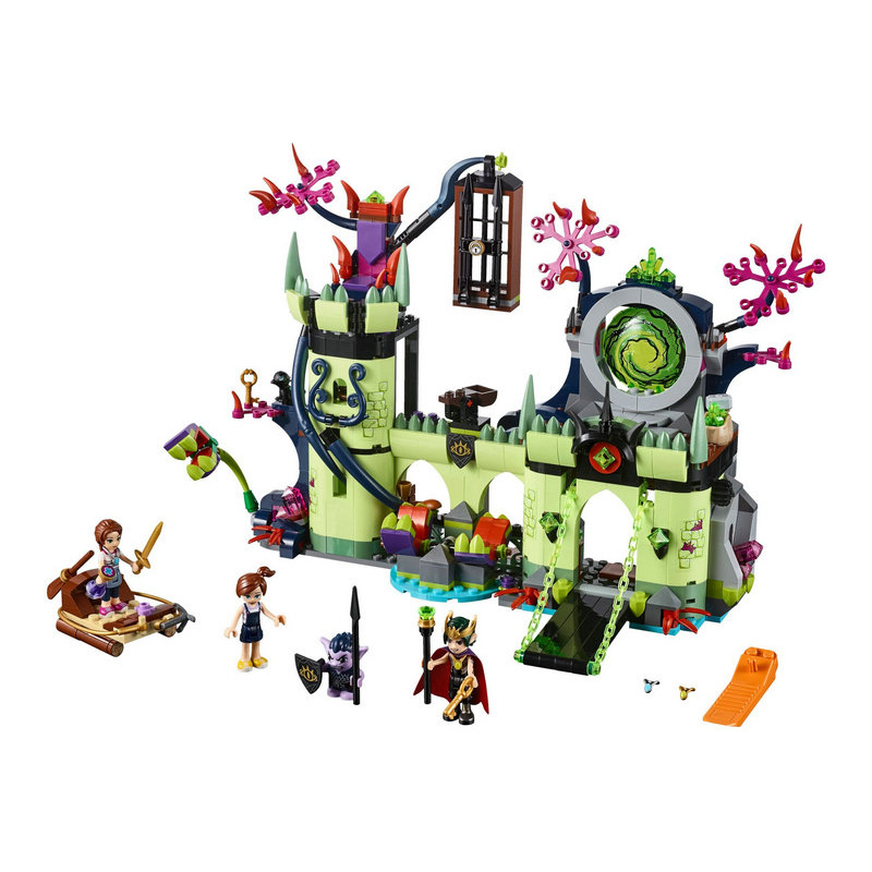 10699 Elves Breakout From The Goblin King's Fortress Building Blocks Compatible With Lago Toys Gift Lepining 41188 image
