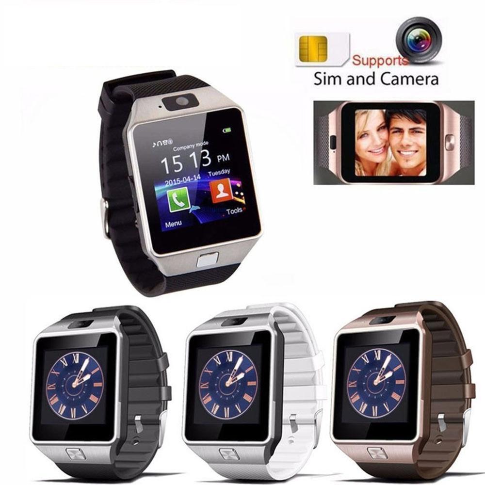 2019 Bluetooth DZ09 Smart Uhr Relogio Android Smartwatch Telefon Fitness Tracker Reloj Smart Uhren Subwoofer Frauen Männer DZ09