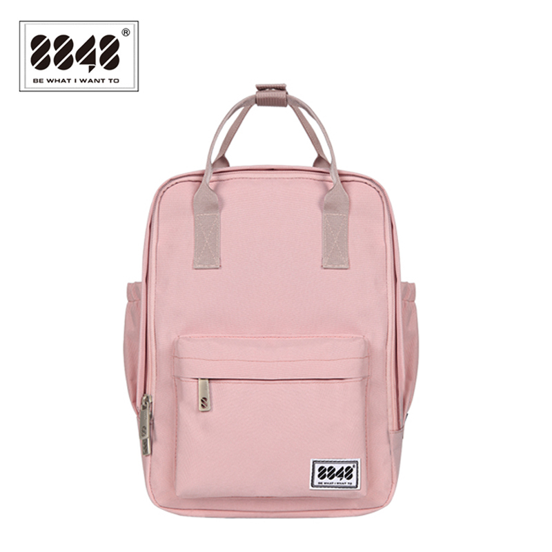 Women Canvas Backpacks Candy Color Waterproof School Bags For Teenagers Girls Laptop Backpacks Shoulder Bag New 2019 003-008-004