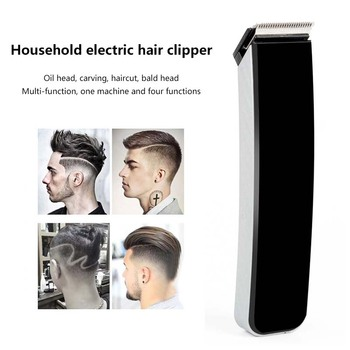 цена на Professional Digital Hair Trimmer Rechargeable Electric Hair Clipper  Cordless Haircut Adjustable Razor Trimmer Haircut Set