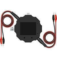 UD18 USB 3.0 18 IN 1 USB Tester APP DC Digital Voltmeter Ammeter Voltimetro Power Bank Voltage Detector Volt Meter|Voltage Meters| |  -