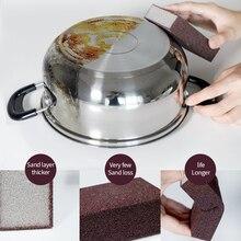 Волшебная губка для удаления ржавчины, чистящая хлопковая салфетка, кухонный инструмент, кухонные аксессуары, приспособления для мытья горшка