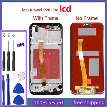 2280*1080 Original Quality LCD With Frame For HUAWEI P20 Lite Lcd Display Screen For HUAWEI P20 Lite ANE-LX1  ANE-LX3 цена 2017