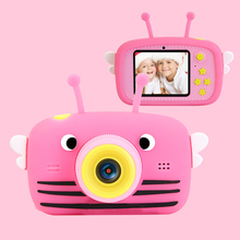 Çocuk mini kamera komple hd 1080 p dijital taşınabilir video kamera fotoğraf 2 Polegada ekran çocuk forkid oyunu çalışma