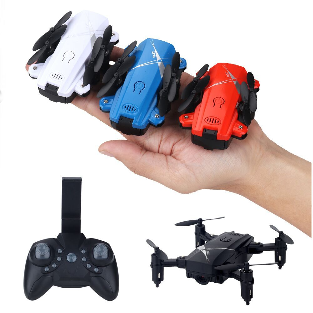 Mini Unmanned Aerial Vehicle Folding Remote Control Aircraft High-definition Aerial Photography Blind Box Aircraft Pressure Set