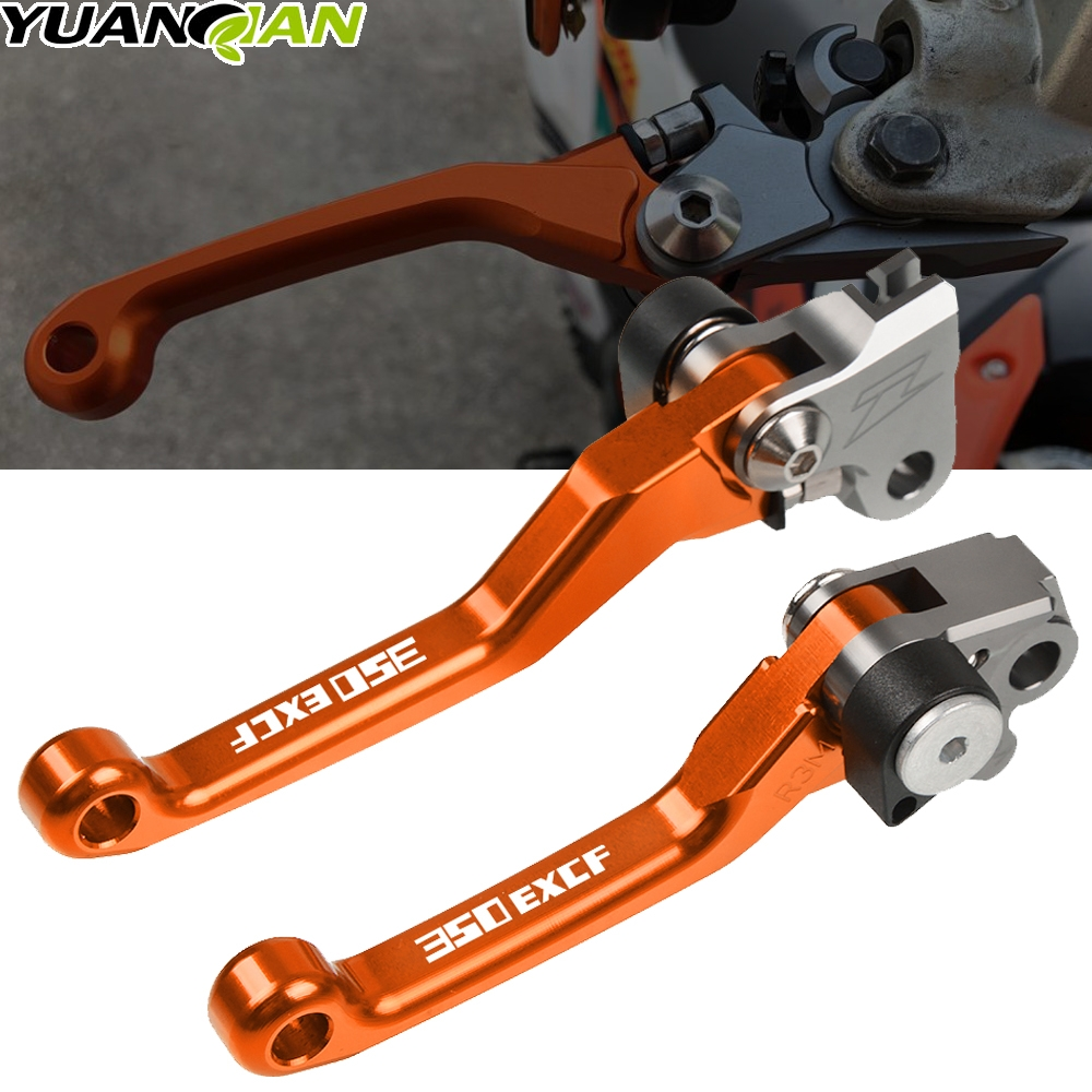 For <font><b>KTM</b></font> 350EXC-<font><b>F</b></font> 2014-2018 2012 2013 2014 2015 <font><b>2016</b></font> 2017 <font><b>350</b></font> <font><b>EXC</b></font>-<font><b>F</b></font> EXCF <font><b>EXC</b></font> <font><b>F</b></font> CNC Motorcycle Dirt Bike Pivot Brake Clutch Levers image