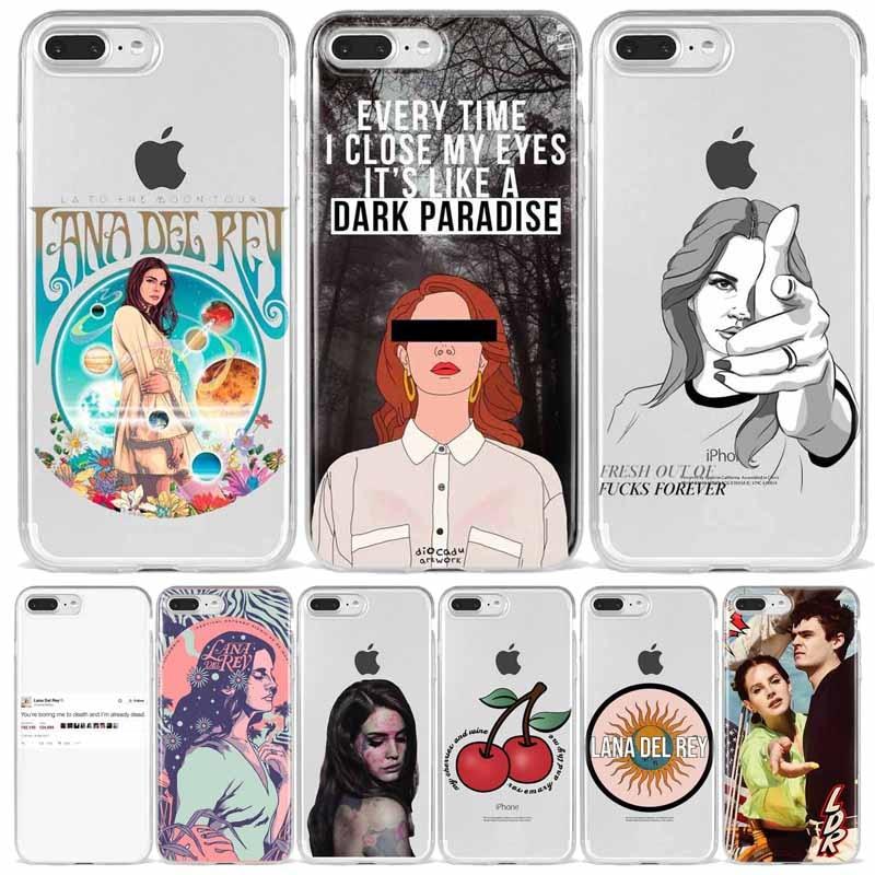 Lana Del Rey lujuria por la vida suave Del teléfono de la contraportada para iPhone 11 Pro Max X 5 5S SE 6 6S Plus 7 8 Plus XS MAX Fundas Coque