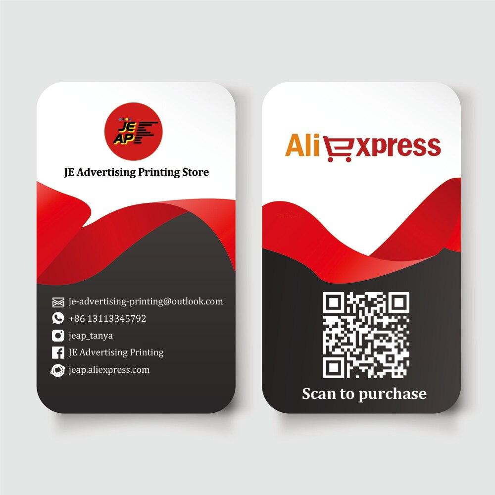 200pcs impressao pvc dois lados design de cartao de visita cartoes de identificacao de plastico redondo