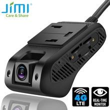 Jimi jc400p 4g câmera do carro com câmeras duplas vídeo ao vivo gps rastreamento wifi monitoramento remoto traço cam dvr gravador livre tracksolid