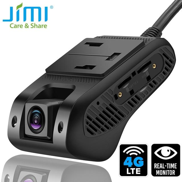 Jimi JC400P 4G cámara para salpicadero de coche 1080P con transmisión de vídeo en vivo seguimiento GPS monitoreo remoto cámara grabadora DVR de coche a través de la aplicación PC