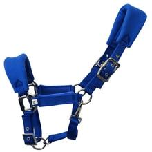 Sponge-Pad Riding-Equipment HORSE-HALTER Strap Detachable-Accessories Adjustable Headcollar