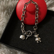 Модные корейские браслеты из нержавеющей стали в стиле Харадзюку